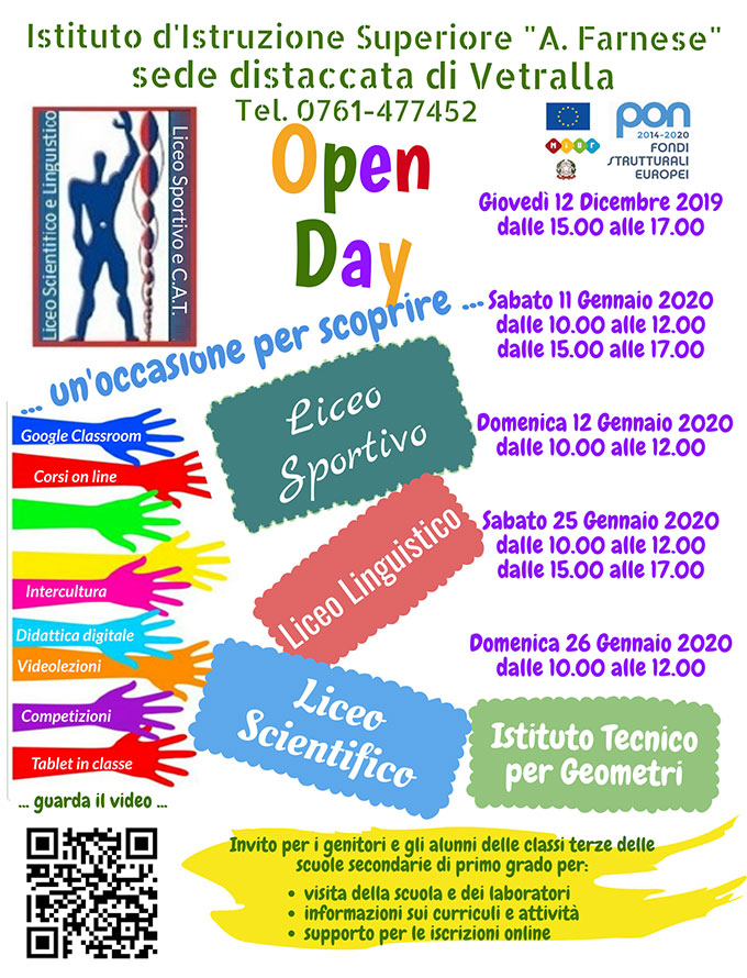 Open day vetralla